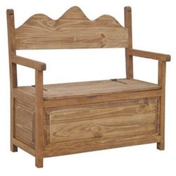 MILLION DOLLAR RUSTIC RUSTIC BENCH WITH STORAGE Accessor