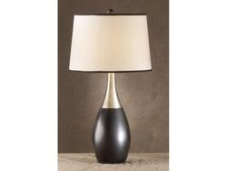 BERNARD BLK/SLVR BOWLING PIN LAMP