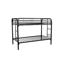 BUNKBED TW/TW BLACK METAL BY COASTER