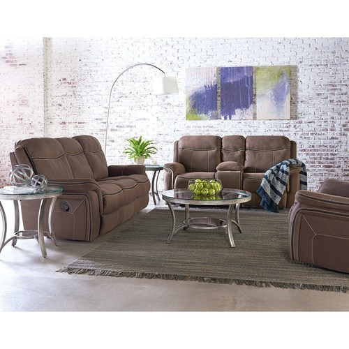 LOVESEAT ONLY IN CHOCOLATE BROWN BY STANDARD