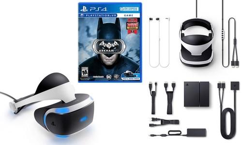 SONY VRTL REALITY FOR PS4 W/GOGLS/ CAM/ BATMAN GAME
