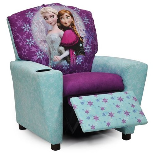 KIDZ WORLD FROZEN BABY RECLINER CHILDREN'S RECLINER