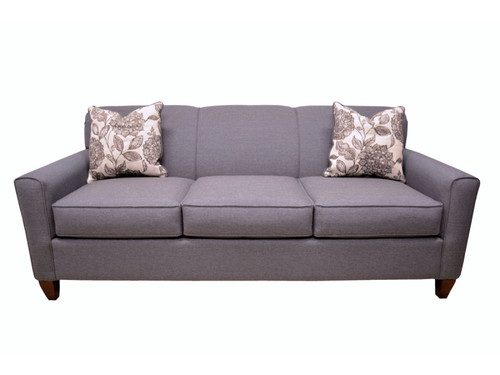 SOFA/CHAIR GRAY & WHITE BY FURNITURE OF AMERICA