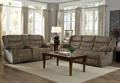 SOFA & GLIDER RECLINER BY STANDARD
