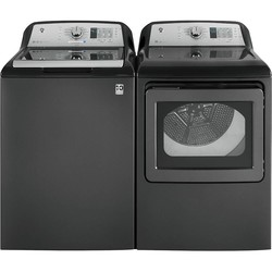 GE - 4.5 CU. FT.WASHER 7.4 CU. FT. DRYER - DIAMOND GRAY