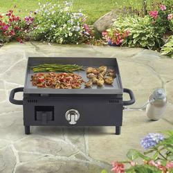BLUE RHINO RAZOR 18000-BTU PORTABLE GAS GRIDDLE GRILL
