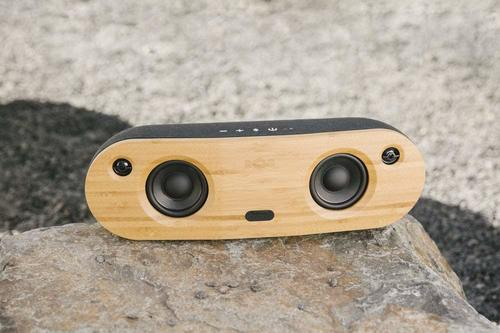 BAMBOO SPKR X2 3.5 BASE WOOFER WIRELESS-15METERS