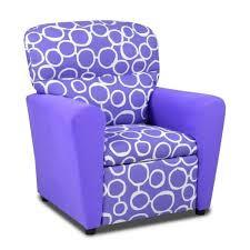 PURPLE TWEEN RECLINER CIRCLE DESIGN