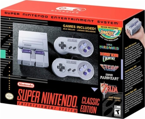 SUPER NINTENDO CLASSIC 21BUILT IN GAMES 2 CONTROLS