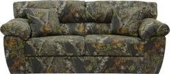 """CAMO SOFA ONLY """"BIG GAME"""" MOSSY OAK NEW BREAK OUT"""