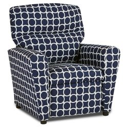 NAVY TWEEN RECLINER LINKED DESIGN