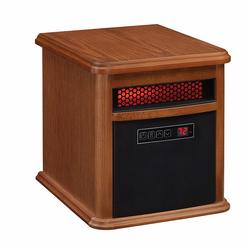 DURAFLAME PORTABLE 1000SQ FT INFRARED HEATER IN OAK COLOR