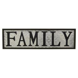 "WORD ART ""FAMILY"" SIGN"