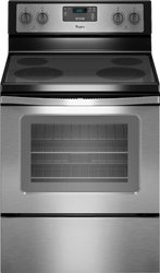 BLK STAINLESS ELECTRIC RANGE W/FLEXHEAT