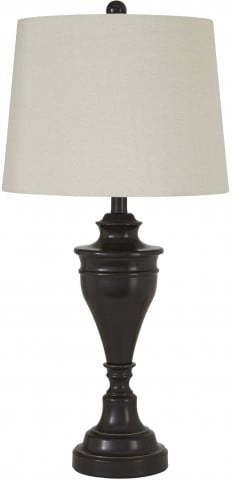 Ashley-METAL TABLE LAMPS SET OF 2