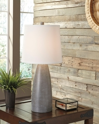 ASHLEY-GRAY VASE LAMPS