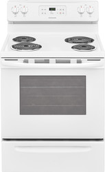 "FRIGIDAIRE- 30"" WHITE ELECTRIC COIL TOP RANGE"
