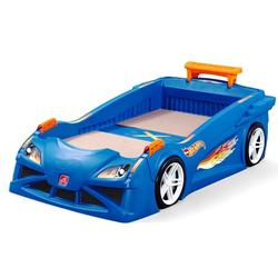 STEP 2 - HOT WHEELS TODDLER RACE CAR BED