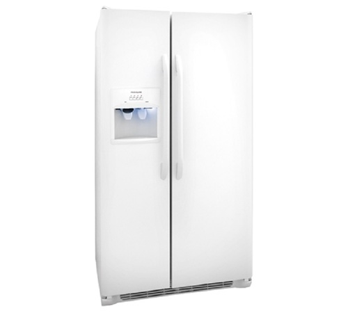 FRIGIDAIRE 22 CU FT WHITE SIDE BY SIDE
