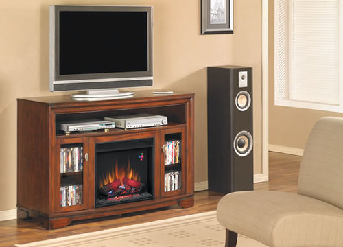 23 INCH CHERRY ELECTRIC FIREPLACE