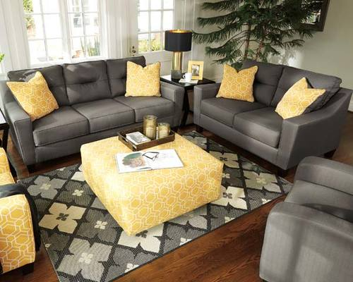 FORSAN NUVELLA SOFA & LOVESEAT BY ASHLEY