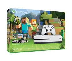 XBOX 1 S 500GB MINECRAFT SPECIAL EDITION