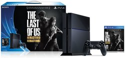 500GB PS4 W/LAST OF US GAME & WIRED HEADSET