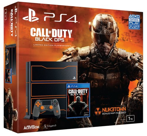 500GB PS4 W/CALL OF DUTY BLACK OPS