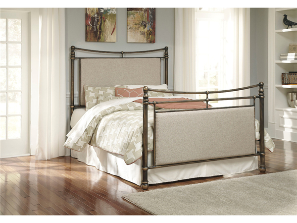 QUEEN METAL BED BY ASHLEY FURNITURE