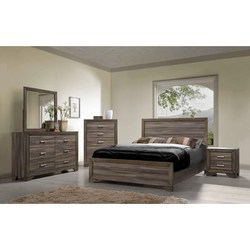 BERNARDS ASHEVILLE QUEEN BEDROOM SET