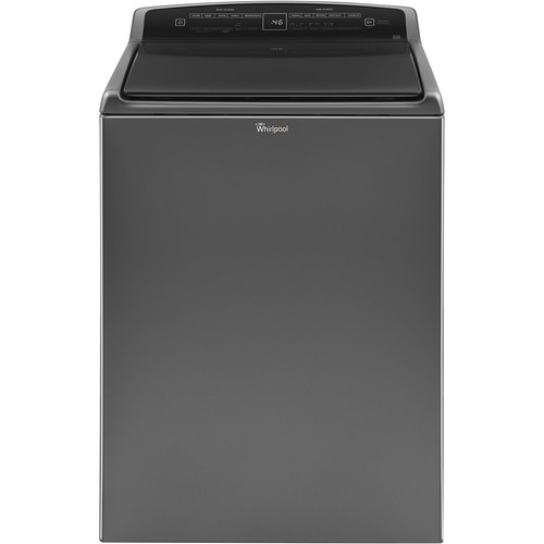 4.8CF CHROME SHADOW TOUCH WASHER W/BUILT IN FAUCET WASHER BY WHIRLPOOL