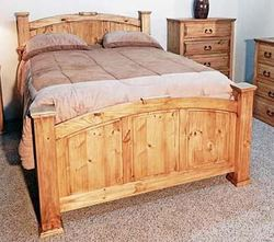MILLION DOLLAR RUSTIC KING MANSION BED