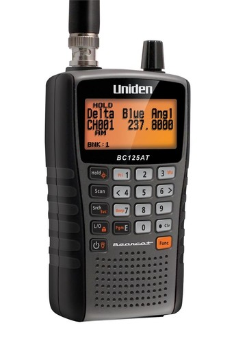 UNIDEN 500 CHANNEL HANDHELD SCANNER SCANNER