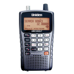UNIDEN SCANNER HANDHELD 300 CHANNEL SCANNER