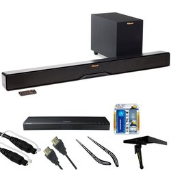 KLIPSCH 2-WAY SOUNDBAR W/WIRELESS 6.5 SUBWOOFER Soundbars