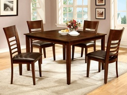 CHERRY 5PC DINETTE BY FURNITURE OF AMERICA